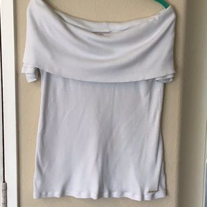 Michael Kors ladies cowl tee top GUC SZ L